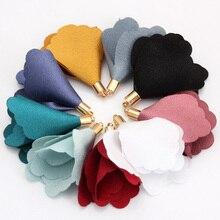 OlingArt  10PCS/LOT for flower suede tassel and lace fiber pendant tassels necklace bracelets DIY jewerly making self