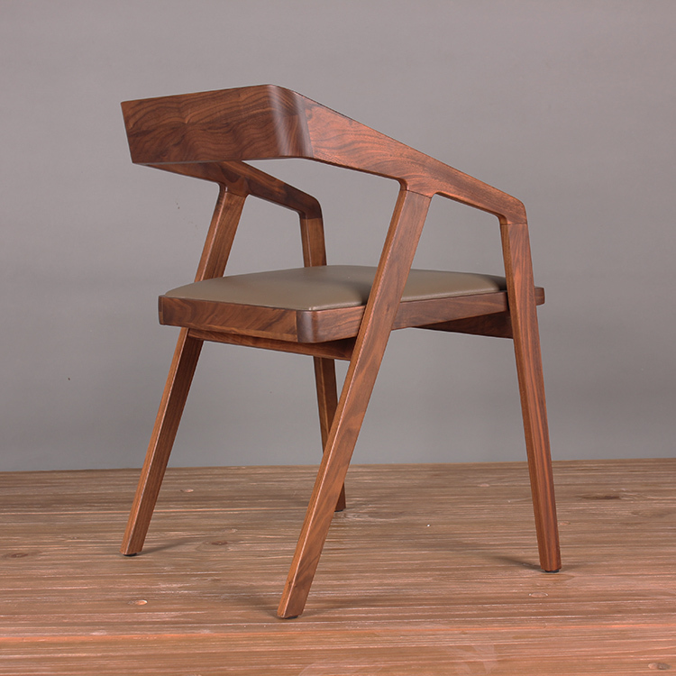 simple and modern wood chair coffee chair lounge chair wood dining