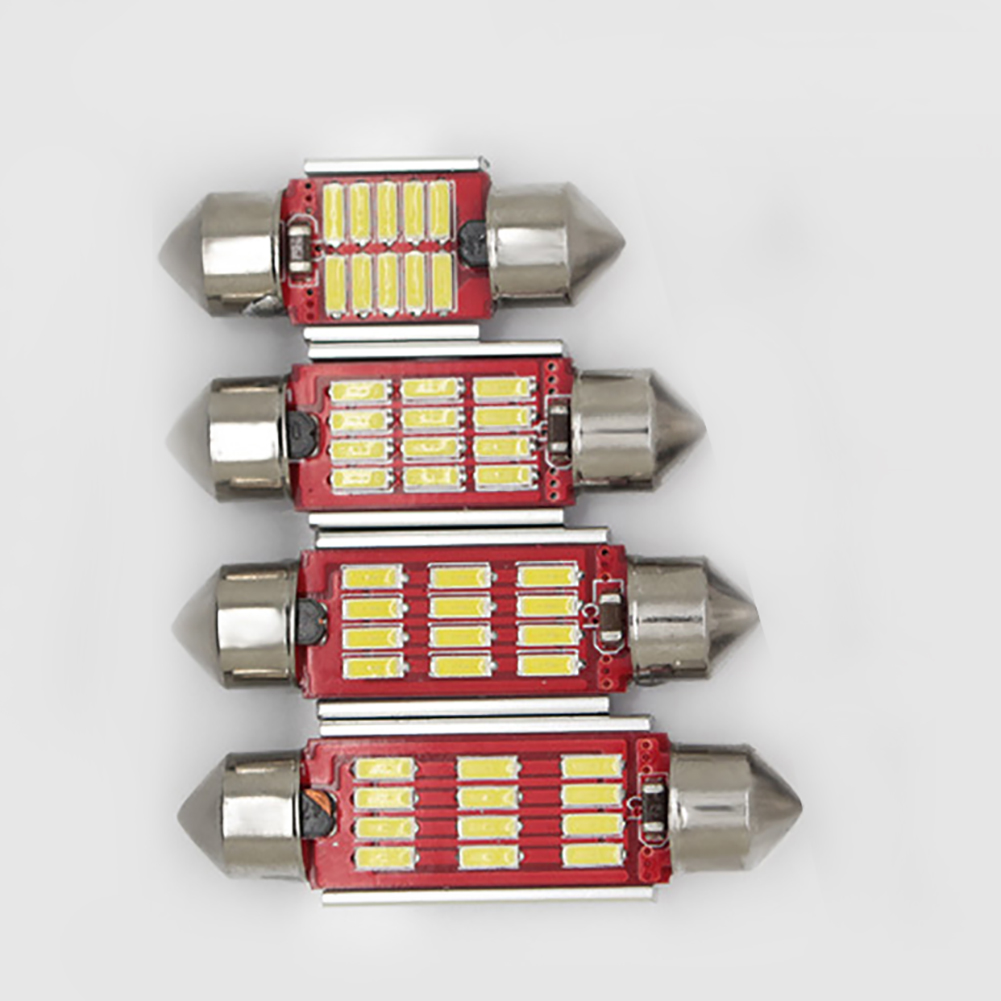 NEW 2Pcs White Light High Power LED Festoon Bulbs for Car Dome Map Lamp 31 41mm in Signal Lamp from Automobiles Motorcycles