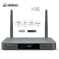Zidoo X9S TV BOX 4K 60fps HD HDMI 2 0 Android 6 0 Quad Core HDMI