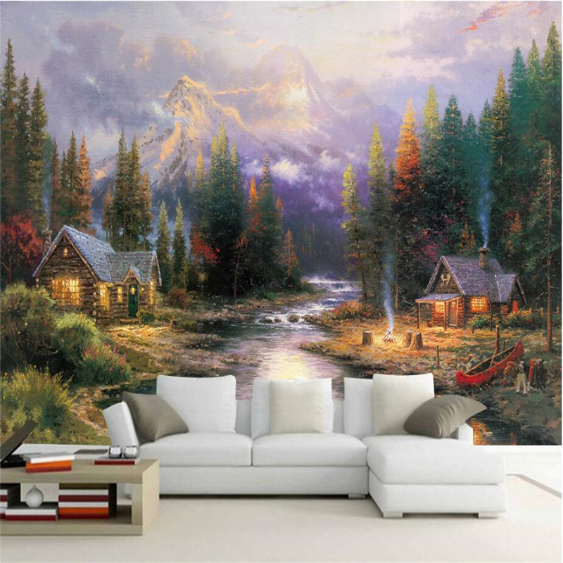 European Wallpaper Oil Painting Photo Wall Mural Embossed Non-Woven  for Bedroom TV Background 3d Wall Mural Wallpaper Bedroom custom 3d mural wallpaper european style painting stereoscopic relief jade living room tv backdrop bedroom photo wall paper 3d