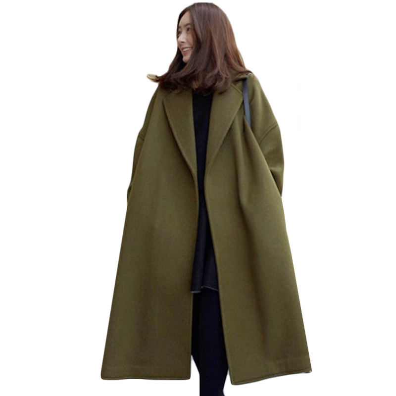 Popular Extra Long Womens Wool Coat-Buy Cheap Extra Long Womens