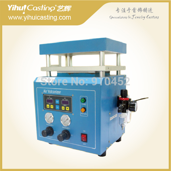 Pneumatic mould vulcanizer,vulcanizing machine,mini vulcanizer for lost wax casting, jewelry tools,pneumatic mold valcanizer stainless pvc aluminum plastic material cnc pipe fitting mold die casting mould