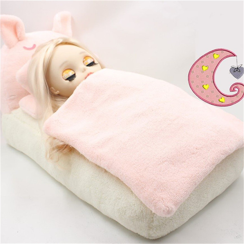 Doll Furniture, Accessories, Pink Pig Bed, Pink Sofa, Suitable For Blyth Icy 30cm Doll