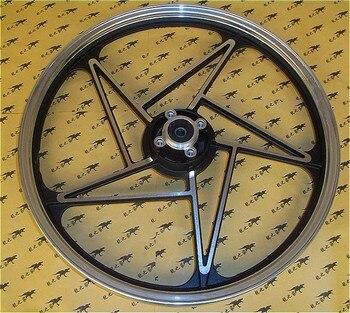 EN125-2/3 HJ125K-A/2A/3A Motorcycle Front Aluminum Alloy Wheel Hub Motorbike Scooter Rear Rims Back Wheel