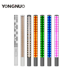 New Yongnuo YN360 Handheld Ice Stick LED Video Light built-in battery 3200k to 5500k RGB colorful controlled by Phone App