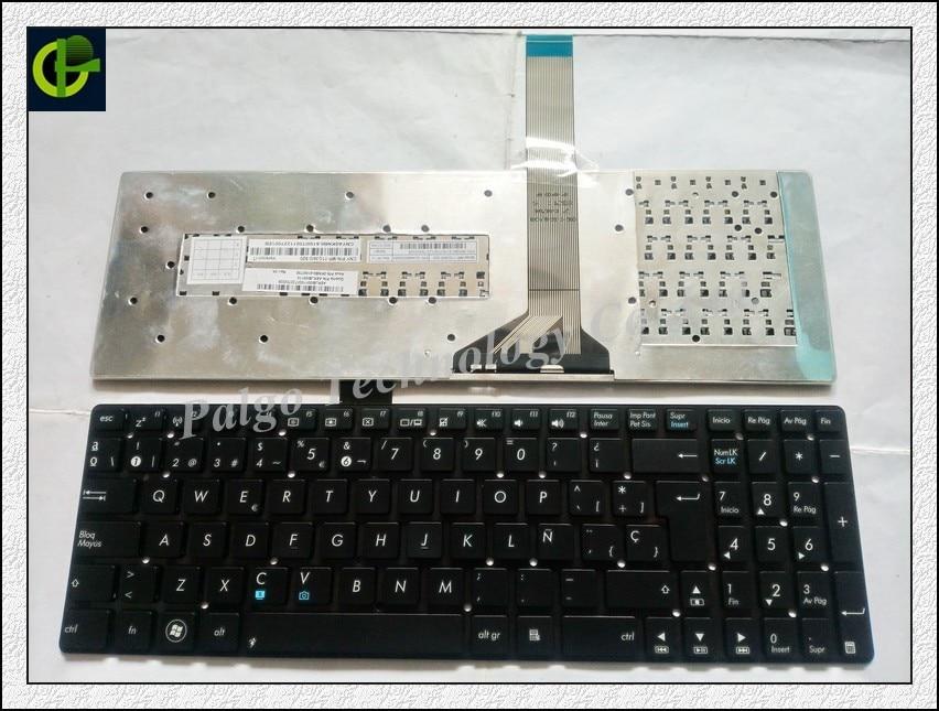 Spanska tangentbord för ASUS A55A A55N A55V A55VM A55VD A55VJ A55XI A55DE A55DR R500V R700V Svart SP eller latinskt LA-tangentbord