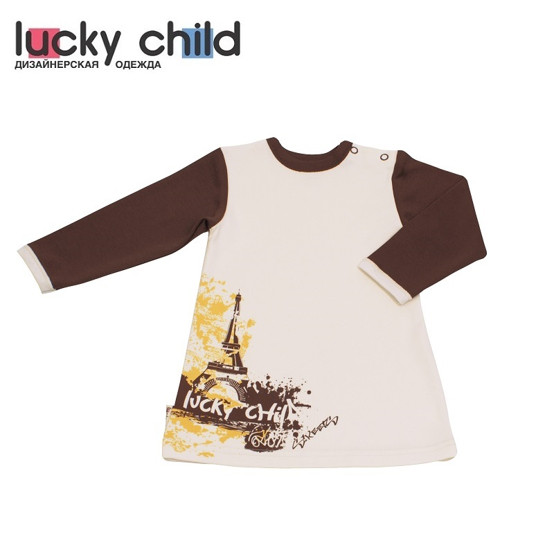 Dresses Lucky Child for girls 16-6 Street Dress Kids Sundress Baby clothing Children clothes dresses lucky child for girls 50 65 18m dress kids sundress baby clothing children clothes