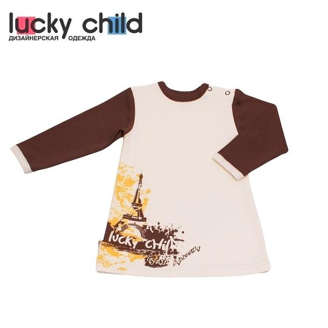 Платье Lucky Child для девочек 16-6 (Улица) [сделано в России, доставка от 2-х дней]