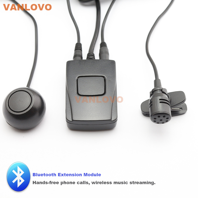 Bluetooth Music Streaming Kit Ipod Media Interface Cable: Bluetooth Extension Module Car Kit HANDS FREE Phone Calls