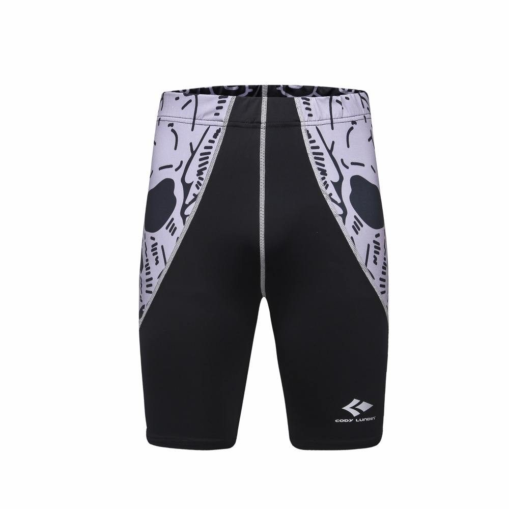 Cody Lundin Compression Shorts for Male MMA Workout Crossfit GYM Rashguard Skin Tight Fitness Running Tranning Sport Shorts