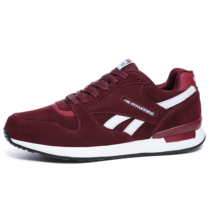Image 2 - Valstone Men's leather sneaker Unisex Spring casual Trainers Breathable outdoor walking shoes light weight antiskid Rubber sole-in Men's Casual Shoes from Shoes