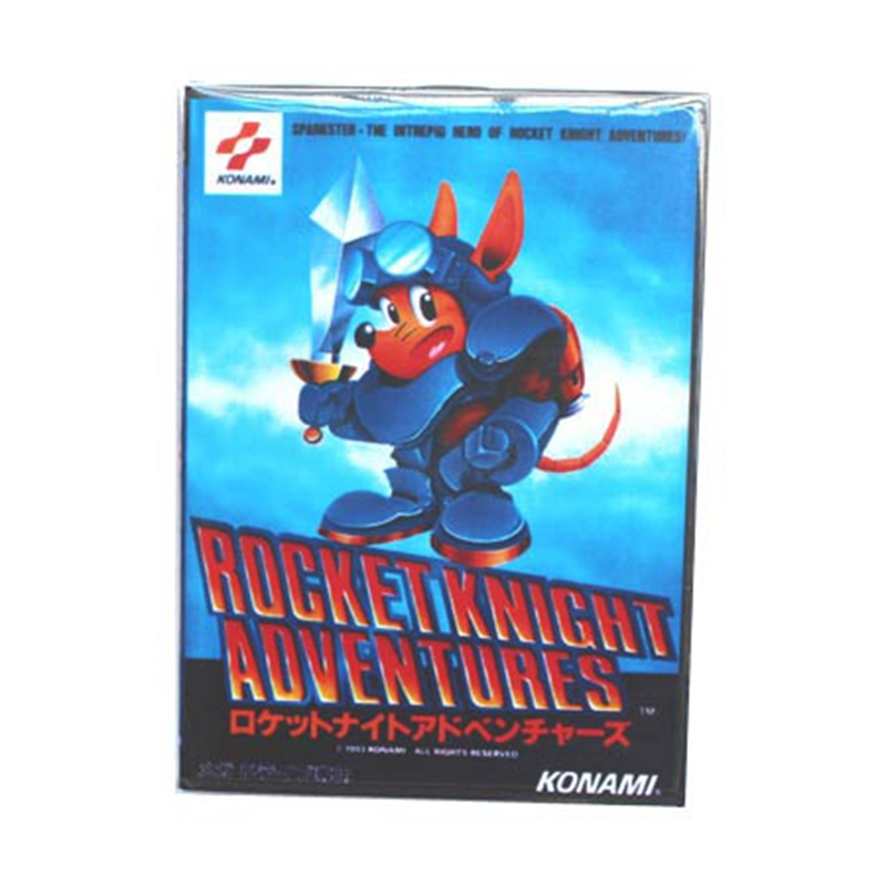 Rocket Knight Adventure Boxed Version 16bit MD Game Card For Sega Mega Drive And Genesis