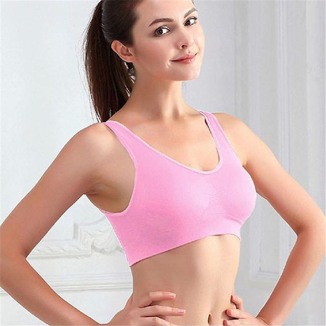 Yoga Fitness Stretch Workout Sport Tank Top Seamless