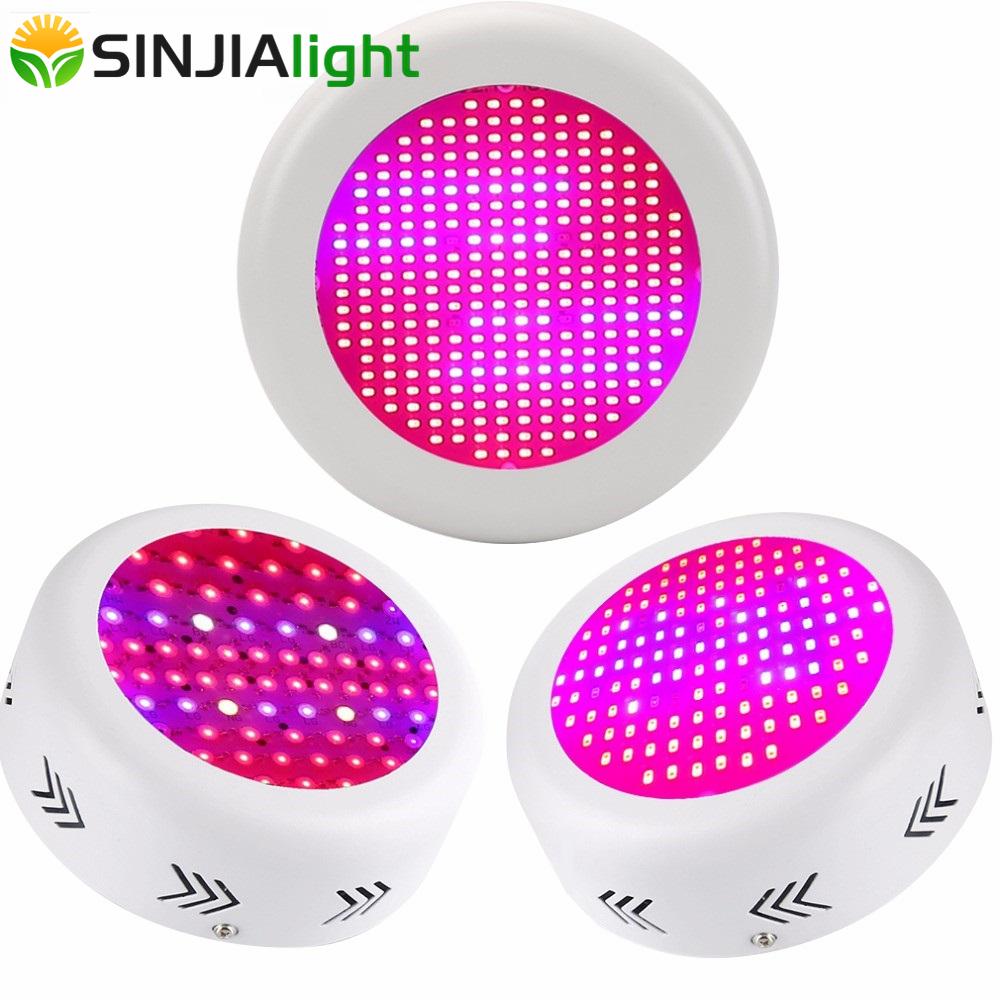 130W 150W 216W 300W UFO LED Grow Light Full Spectrum Plant Lamps UV Bulbs LED Lighting for Flowers Hydroponics Greenhouse Tent full spectrum ufo 150w led grow light led plant lamp uv ir tent lighting for flowering plant and hydroponics grow box x 16pcs