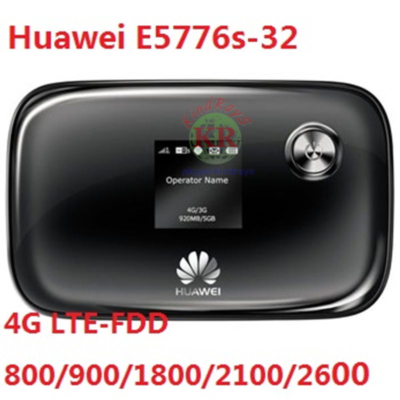 old and Used Unlocked Huawei E5776S 32 cheap 150Mbps 4G LTE MiFi Mobile WiFi Hotspot wireless router PK R210 E589 E587 E5331