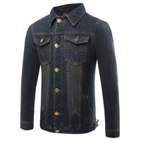 Hot 2017 Spring Plus Size 4XL Men S Casual Coat Slim Denim Jacket Jeans Coats For