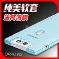Oppo n3 teléfono móvil estuche blando de silicona caso antidetonantes cubierta slim case cubierta transparente