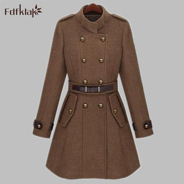 Popular Wool Coats Ladies-Buy Cheap Wool Coats Ladies lots from ...