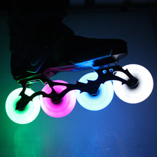 Roller Skates Wheels With Lights In Them