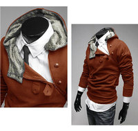 бесплатная доставка высокий стоит пальто новое постулат бренда мужской пак, мужская пальто пыли, Даг и свободного покроя пальто 4 цвет СЗ : ы-XXXL осенняя