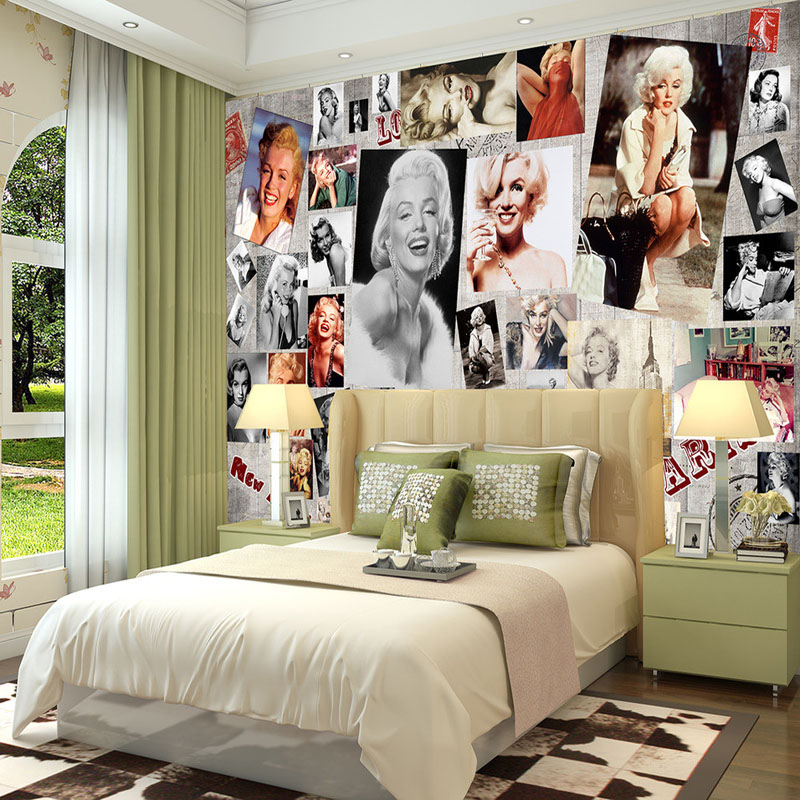 marilyn monroe room wallpaper - photo #22