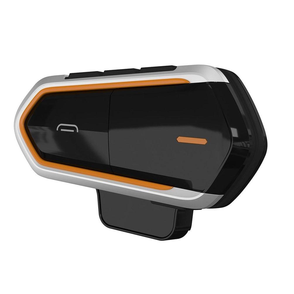 QTBE6 Motorcycle Helmet Intercom Headphones Wireless Intercom Handsfree Waterproof FM Radio Headset Motorcycle Headphone