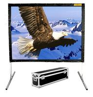 2019 Hot selling 80 inch 16:9 format Fast Quick Fold Projector screen for many size front and rear projection screen|projector screen|folding projector screens|screen for projector -