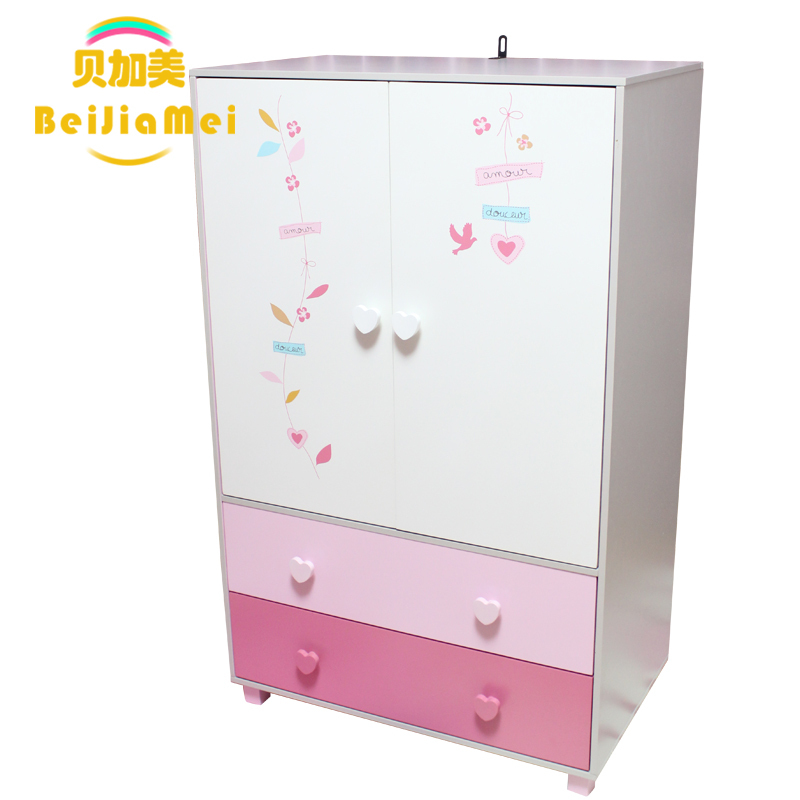 bega us children 39 s ikea wardrobe girl princess bedroom minimalist two cute little wardrobe. Black Bedroom Furniture Sets. Home Design Ideas