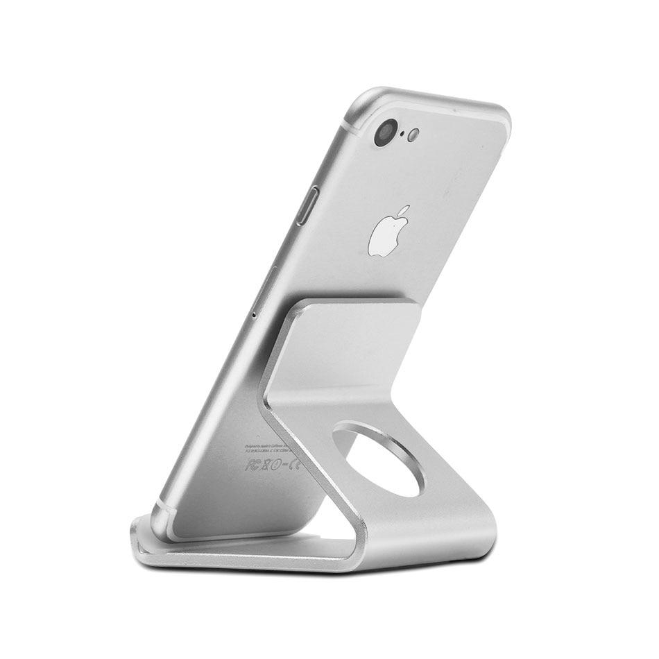 Mobile Phone Holder Stand Desk Aluminum Metal Desktop