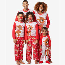 2018 Christmas Pajamas Family Matching Pijama Women Father Mother Daughter Girl Boy Kids Clothing Sets Pyjamas Family Look