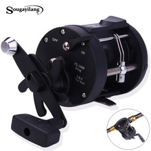 Sougayilang Trolling Reel Fishing TSSD 3000L-4000L Black Right Hand Casting Sea Fishing Reel Saltwater Baitcasting Reel Coil