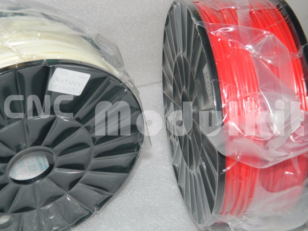 Vermetel Abs Pla 1.75mm 3mm Roll 1 Kg Plastic 3d-printer Filament Rubber Verbruiksartikelen Milieu Materiaal 20 Colours Supply Cnc Modulkit Bespaar Zonder Kosten