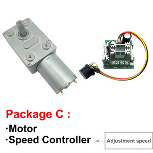 Микро низкоскоростной Электрический DC червячный редуктор Мотор высокий крутящий момент 6V 12V 24V 8MM вал мотор в DC мотор самоблокирующаяся Регулируемая скорость