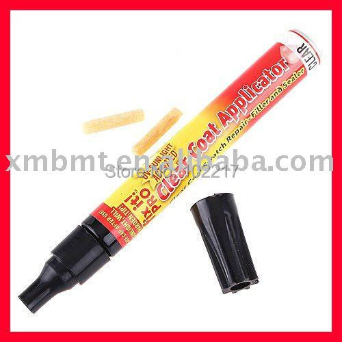EXPRESS FREE SHIPPING!! 100 pcs/lot New Simoniz Fix It Pro Clear Car Scratch Repair Pen with OPP packing!