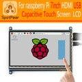 7 inch HDMI USB Емкостный Сенсорный экран, LCD, для Raspberry Pi 2/3 режиме 800x480, бесплатно драйвер для raspbian/WIN10 7 дюймов