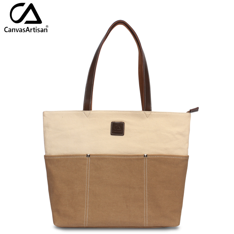 Canvasartisan brand new women's bags top-handle casual daily handbag big capacit