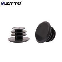 Stoppers Handlebar-Caps Grip-Bar Bicycle Ends MTB ZTTO Plastic BLACK Road 4pcs