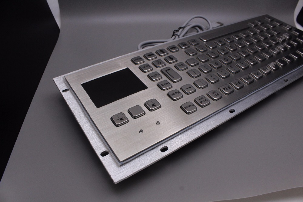 IP65 Robuust Kiosk Metalen Industrieel Toetsenbord met Touchpad - Computerrandapparatuur - Foto 5