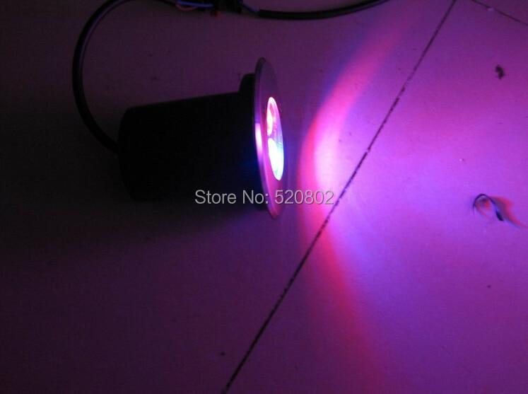 de assoalho quadrado lâmpada ao ar livre conduziu a luz do ponto