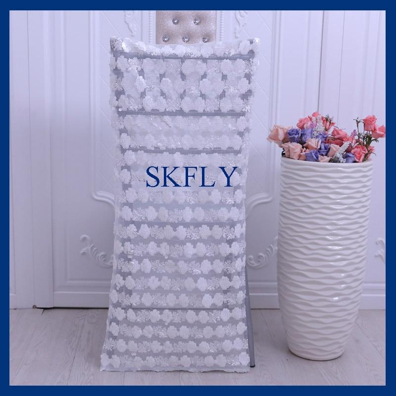CH021A Новый 2017 оптовая продажа свадебных вышивки картины матовая блесток стул cover ...
