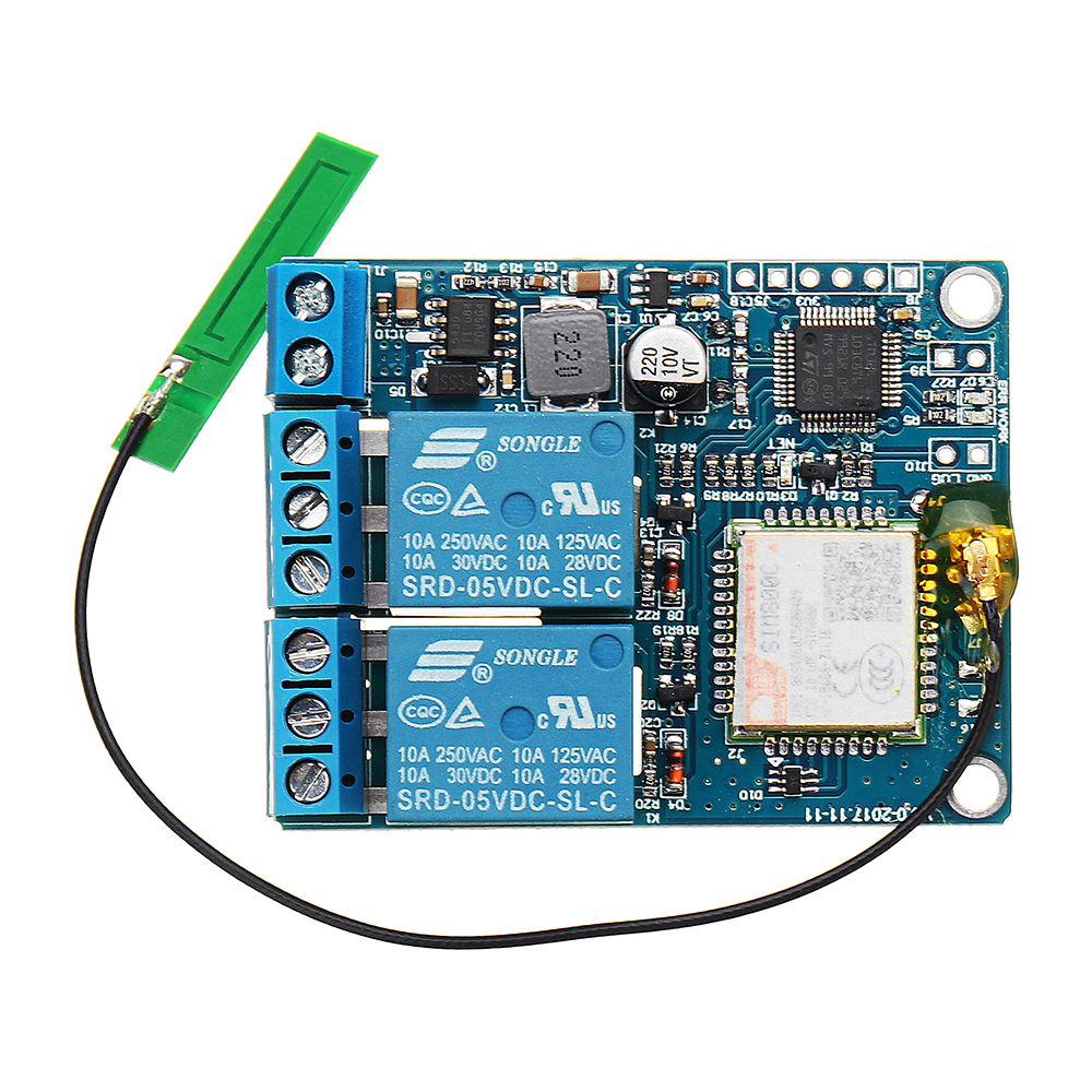 NEW UNV-GSM-2C-SMS&CALL Controller Remote Control Switch For Pump Control Cabinet Server Restart Relay Control Board ModuleNEW UNV-GSM-2C-SMS&CALL Controller Remote Control Switch For Pump Control Cabinet Server Restart Relay Control Board Module