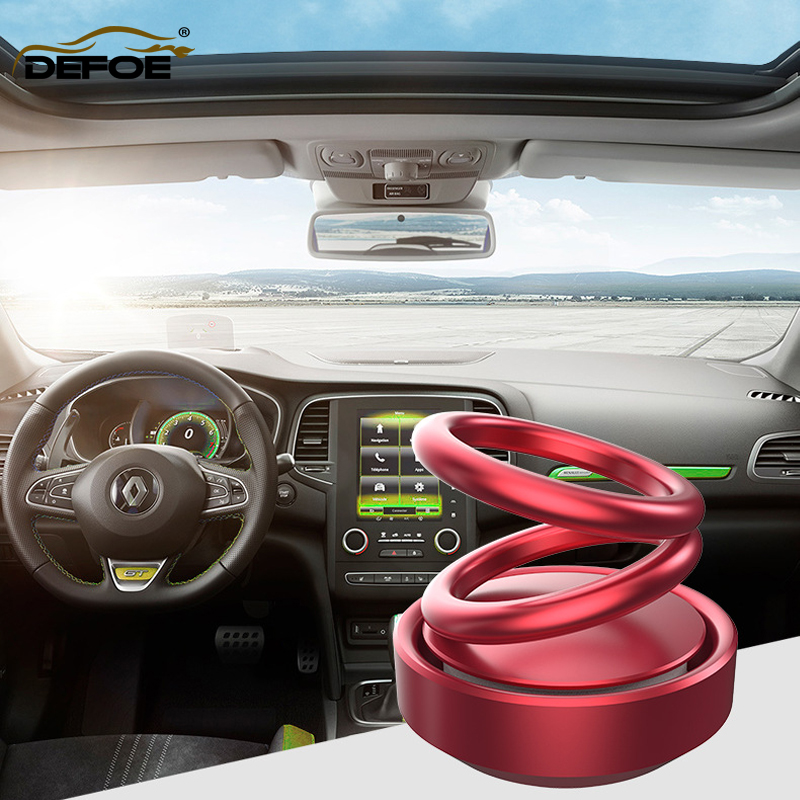 solar power car decoration car air purifier Double ring Suspension car air freshener free scented tea size 58 57CM freeshipping in Ornaments from Automobiles Motorcycles