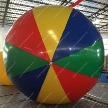 Free Shipping 2.5m(98 inch) Giant PVC Rainbow Beach Ball Inflatable Beach Ball for sale