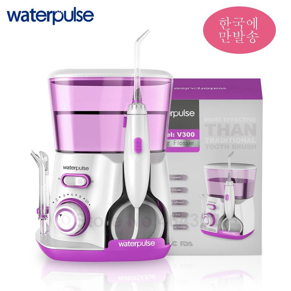 Waterpulse V300 irrigateur à cavité buccale dentaire électrique Portable soie dentaire pour le soin des dents