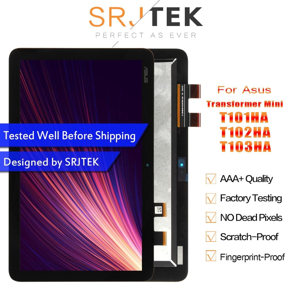 SRJTEK pour Asus transformateur Mini T103HA T103HAF T102HA T101HA T101H LCD écran tactile écran tactile capteur assemblage