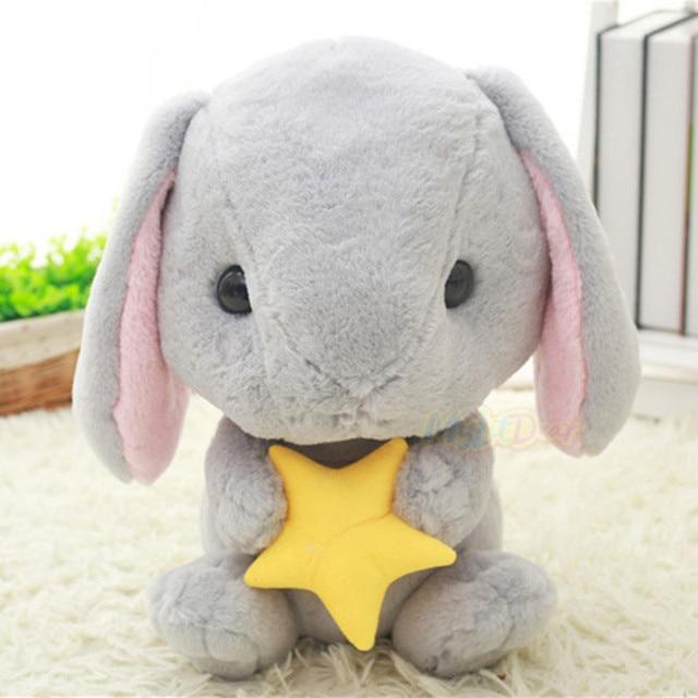 32 см Милый Кролик Мягкие Плюшевые Игрушки Baby Doll Комфорт сна Куклы Игрушки Подарки для Детей Интерактивные Куклы Рождество подарок