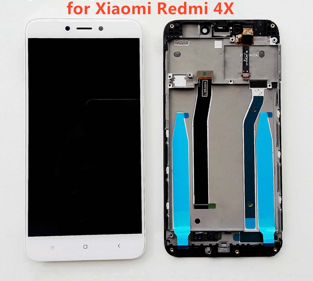 For Xiaomi Redmi 4X LCD Display Touch Screen Digitizer Assembly with Frame ReplacementFor Xiaomi Redmi 4X LCD Display Touch Screen Digitizer Assembly with Frame Replacement