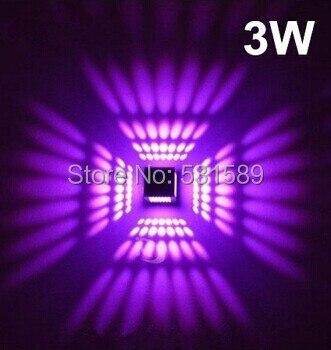 3W AC85-265V Aluminum light LED lamp wall lamp corridors porch light foyer light absorb dome light Warm/Cool white/R/G/B/Y/P