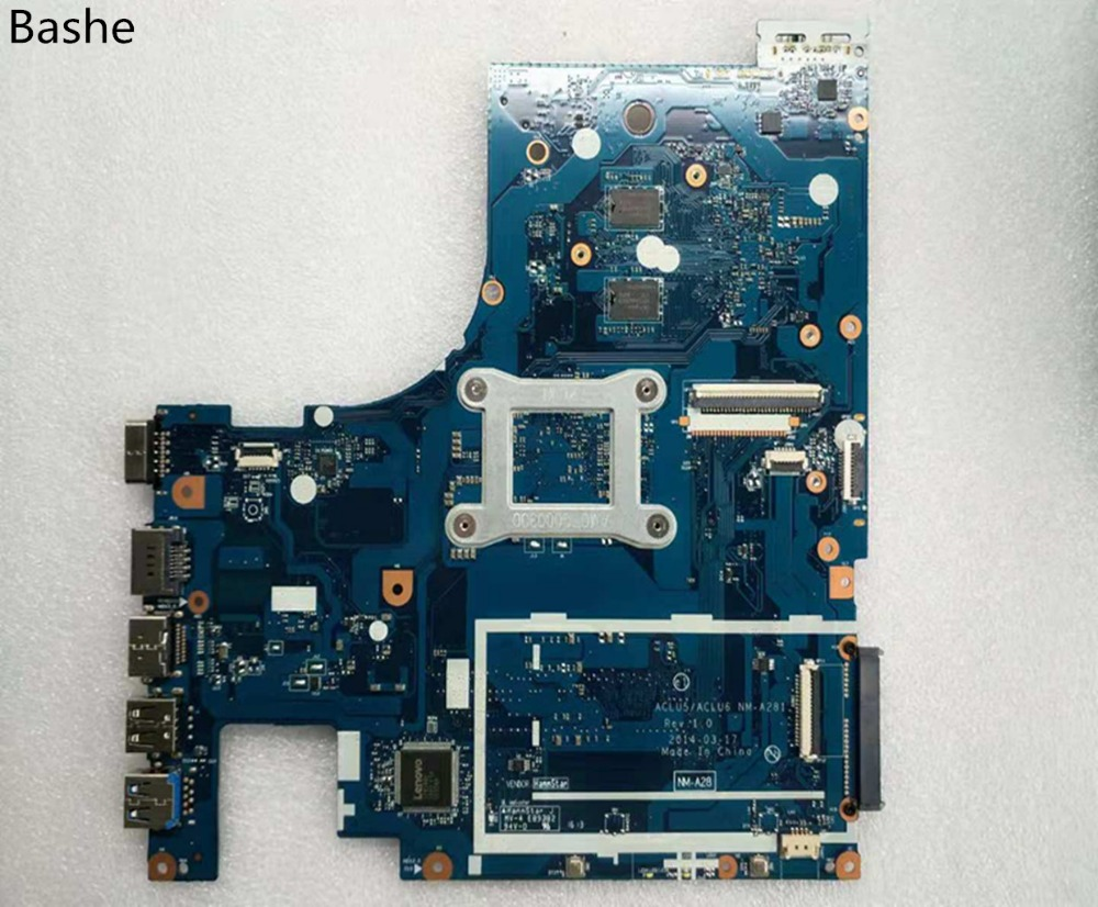 Image 2 - Base plate for Lenovo laptop computer G50   45 motherboard AMD  am6410 A8 MB aclu5 aclu6 nm to 15 inches a281 complete tesed-in Laptop Motherboard from Computer & Office